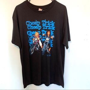 Cheap Trick Band Tee Shirt Size Large